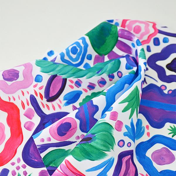 Digital Fabrics_custom fabric printing_australian design_textile artist_shiztastic_leaf glitter_1