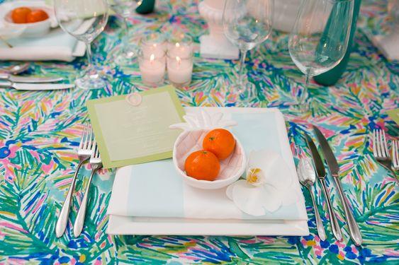 beautiful table linen