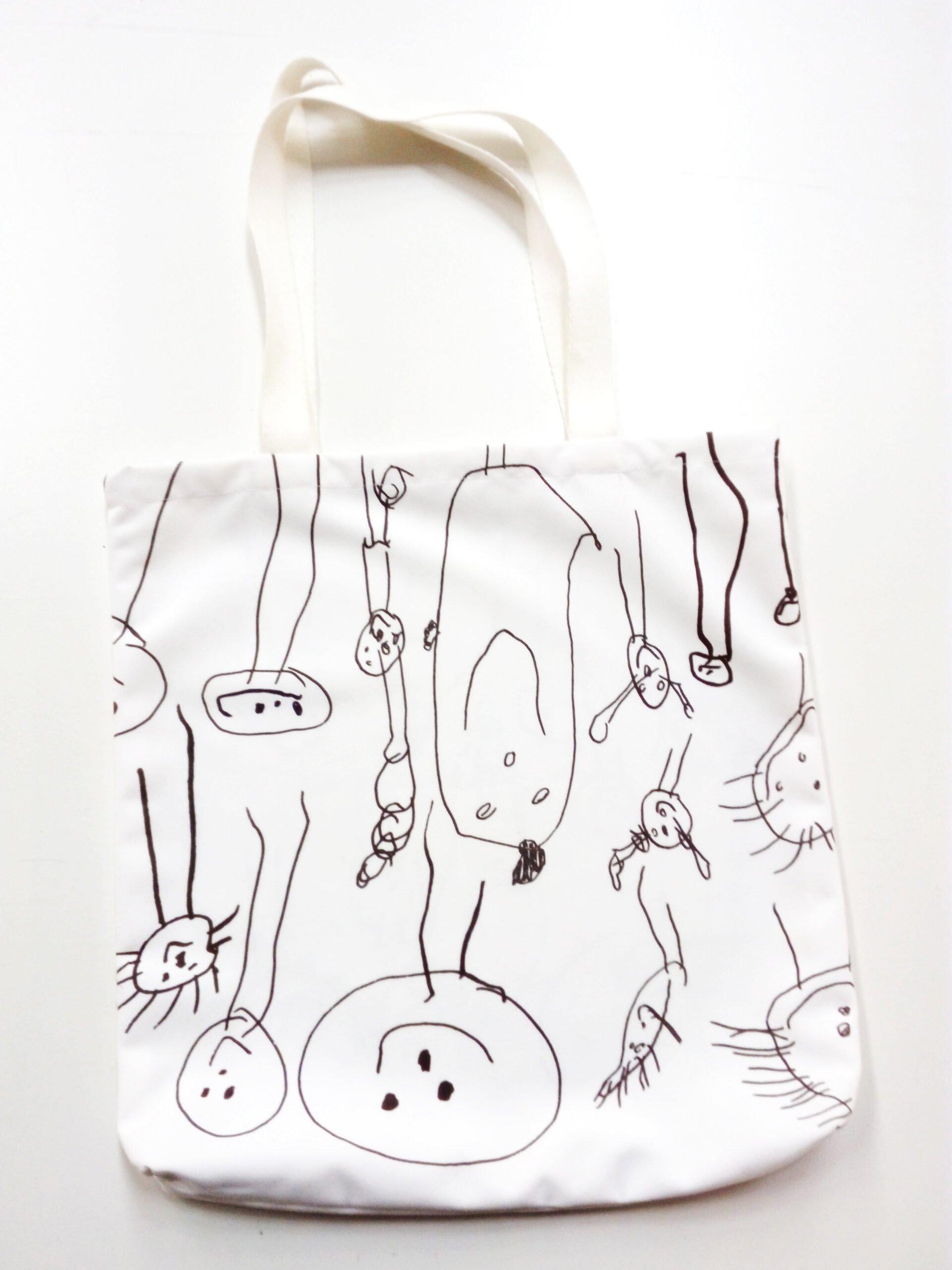 Custom printed and made tote bags