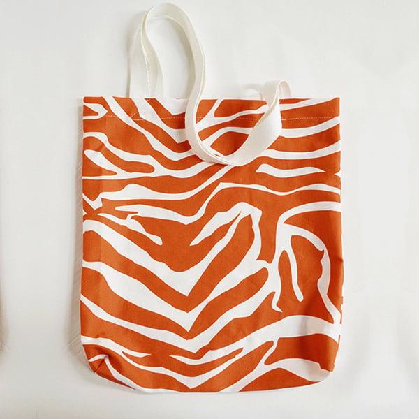 custom printed and made tote bag