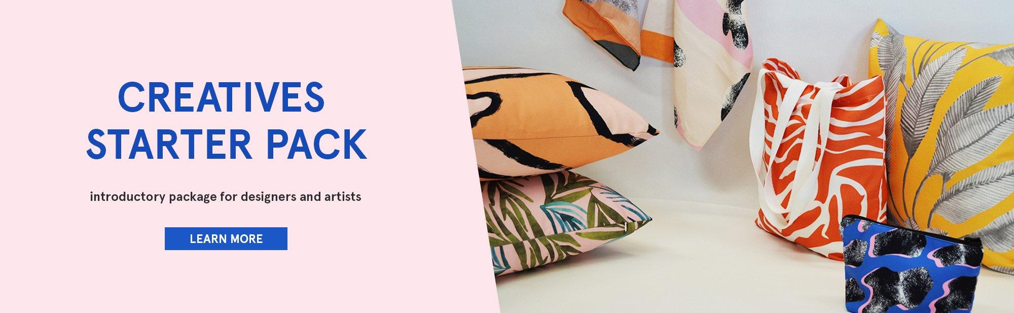 Creatives Starter Pack -Print Custom Fabric